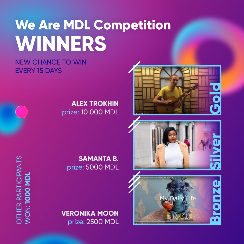 You should join the We Are MDL Competition!