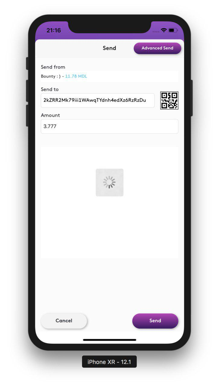 MDL IOs Wallet view step 3