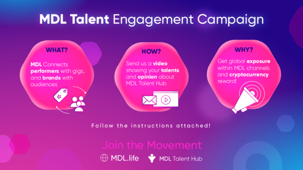 MDL Talent Hub influencers & performers