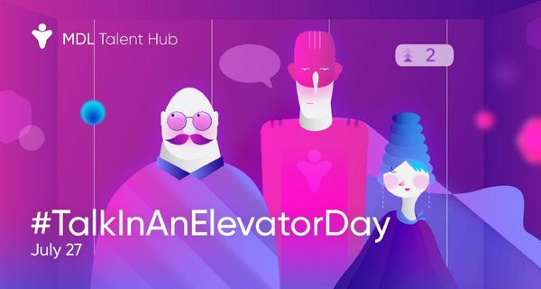 TalkInAnElevatorDay